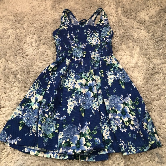 Jessica Simpson Blue Dress 👗